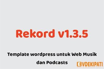 Rekord v1.3.5 - Ajaxify Music - Events - Wordpress Template