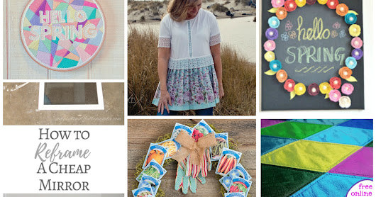 Hello to March: Craftastic Monday Link Party!