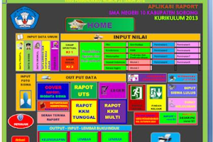 Download Aplikasi Raport SD,SMP dan SMA K13 Lengkap