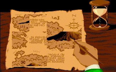 Viaje al centro de la Tierra - Resolviendo el puzle del mapa