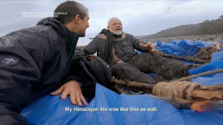 Download Man Vs Wild with Bear Grylls and PM Modi Full Show In Hindi 720p HDTV ESUB | MoviesBaba 4