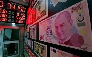 سعر الليرة التركية مقابل العملات الرئيسية الأحد 9/8/2020