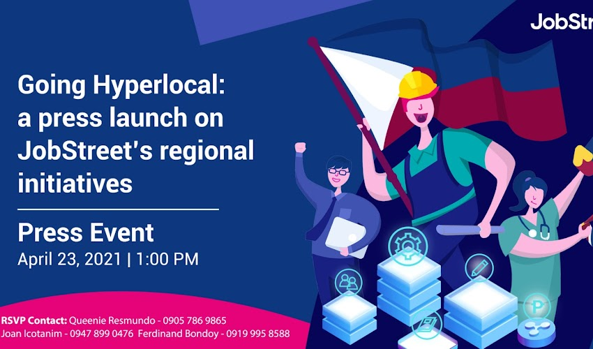 JobStreet Goes Hyperlocal: Launched Microsites And Virtual Career Fair