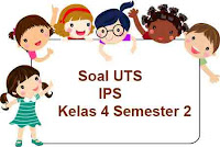 Soal UTS IPS kelas 4 semester 2 dan kunci jawaban
