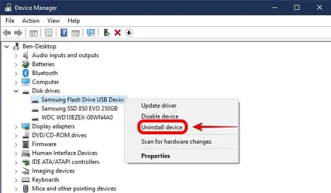 hdd not recognized