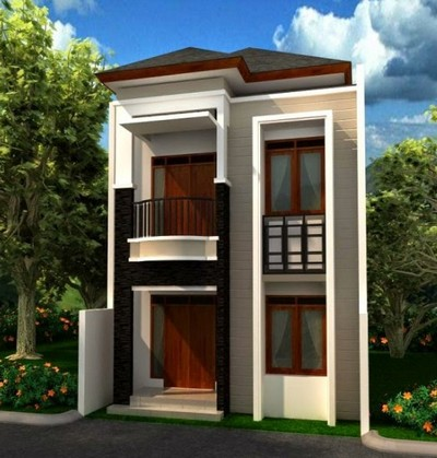 rumah minimalis 2 lantai sangat sederhana