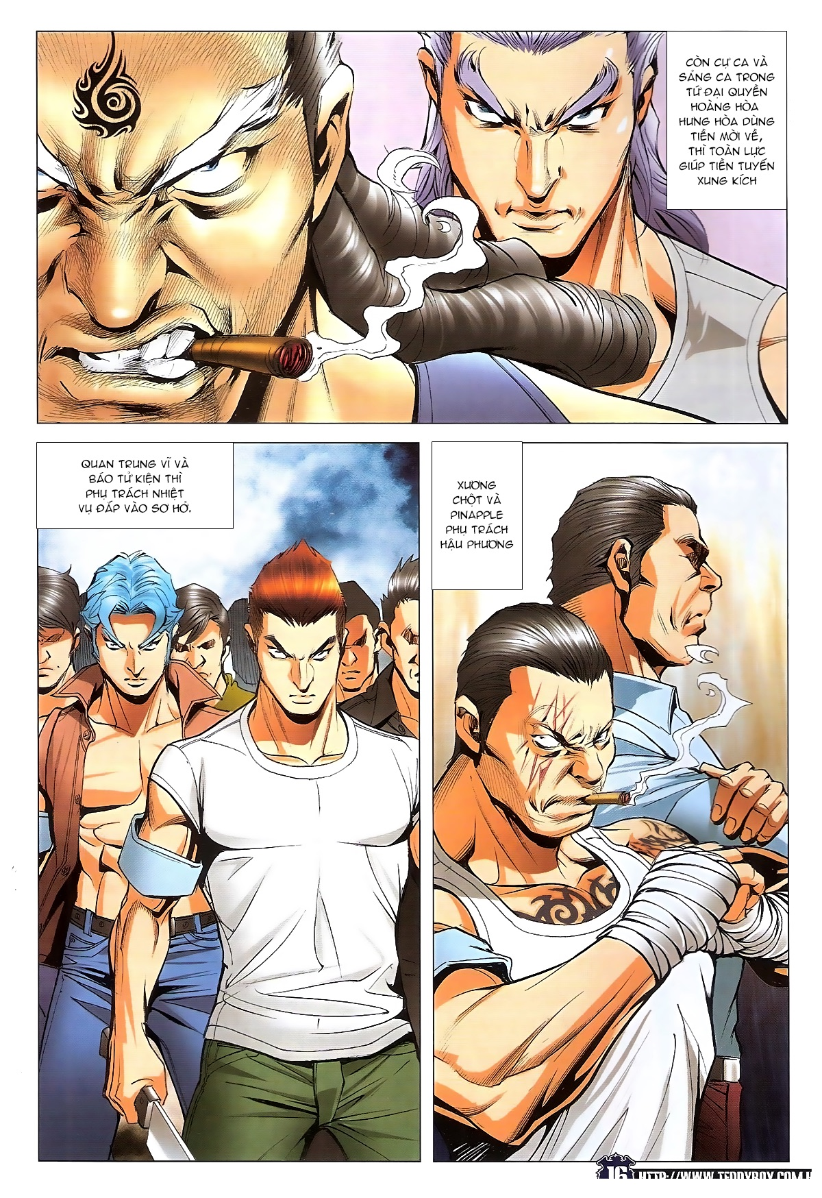 Người Trong Giang Hồ chapter 1829: khai chiến trang 14