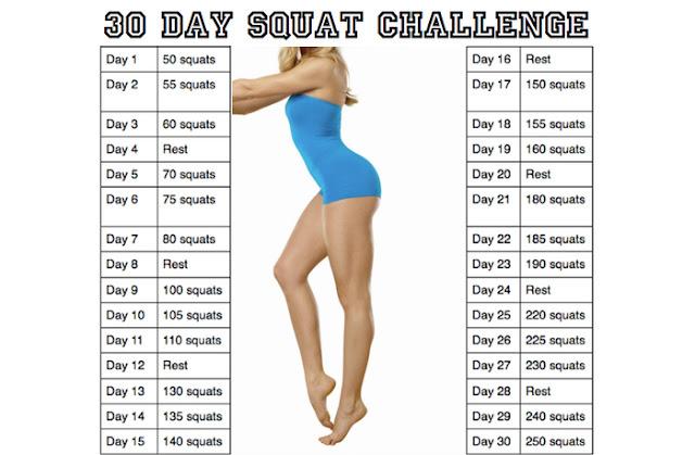 squat challenge crunch challenge  rimettersi in forma dopo le feste dieta dopo le feste esercizi per addominali esercizi glutei saltare corda benefici benefici camminata
