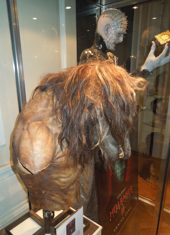 Dog Soldiers werewolf creature prosthetics