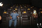 Bioskop CGV Mall Grand Batam, Syamsul Bahrum : Patuhi Selalu Protokol Kesehatan