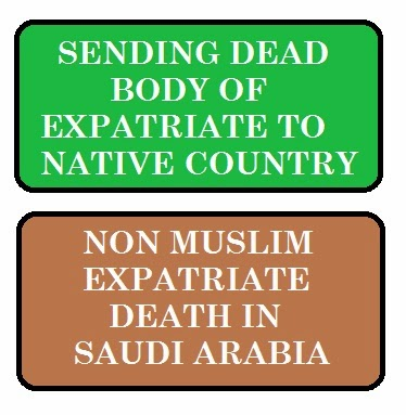NON MUSLIM DEATH IN SAUDI