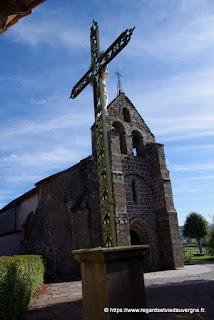 Eglise saint Ménélée de la Crouzille, Puy-de-Dôme