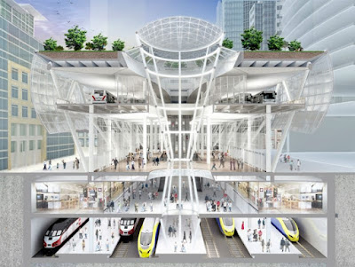 Salesforce Transbay Center architectural rendering