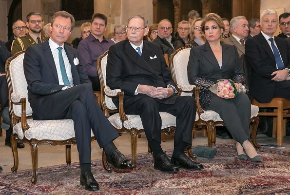 Grand Duke Henri, Grand Duchess Maria Teresa and Grand Duke Jean. Grand Duchess Charlotte, who is the mother of Grand Duke Jean