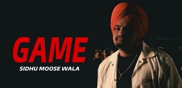 Game Lyrics in English - Sidhu Moose Wala   Shooter Kahlon