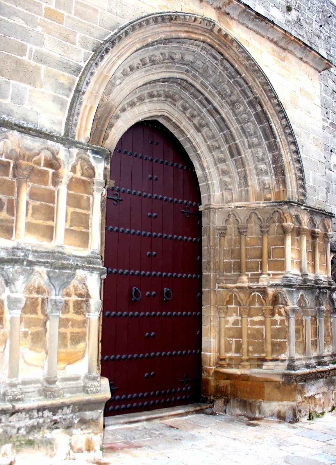 Puerta románica de la iglesia de San Pablo en Úbeda