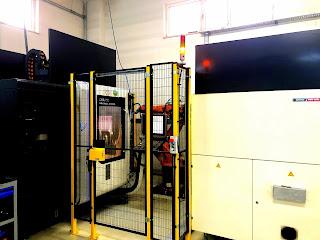 Kuka CNC Besleme Robotu