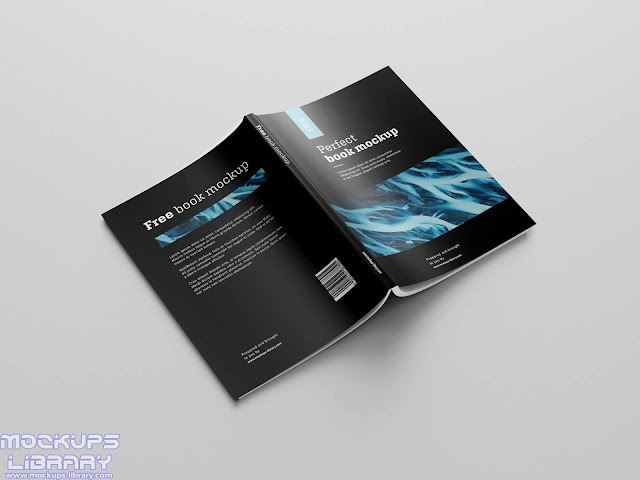 free book mockup 7