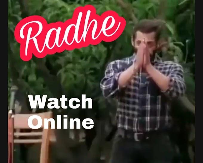 Radhe full movie watch online filmywap, filmyzila, pagal movies