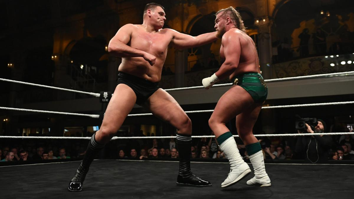 WALTER atinge grande marca com o NXT UK Championship