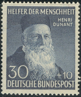 Henri Dunant, Red Cross Founder West Germany