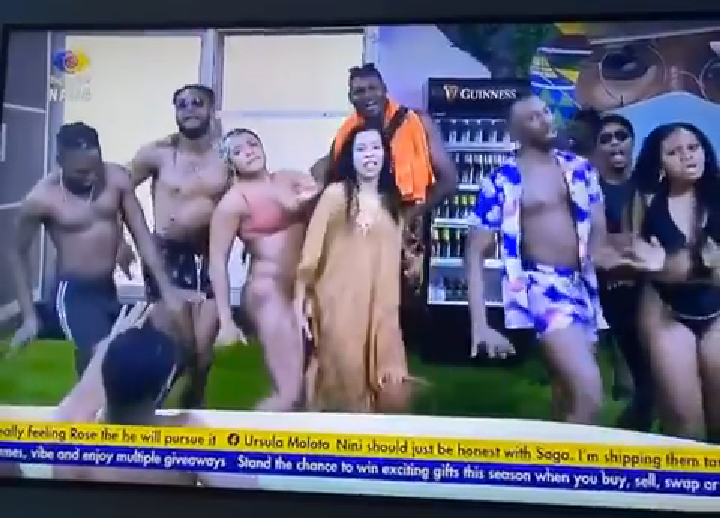 BBNaija 2021: Picture From Friday Night Party
