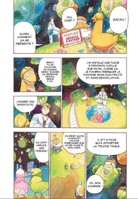 Comet Girl: Sazan fait des travaux sur de petites planètes
