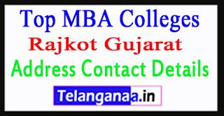 Top MBA Colleges in Rajkot Gujarat