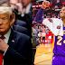 A un día de su salida, Trump ordena la construcción de 244 estatuas entre las que figura Kobe Bryant