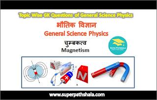भौतिक विज्ञान: चुम्बकत्व GK Questions Set 1