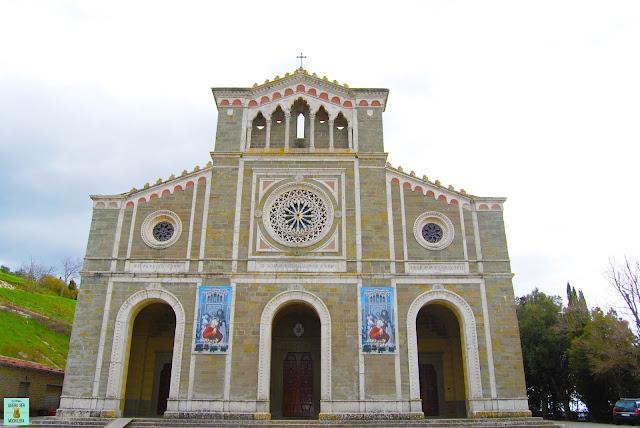 Basílica de Santa Margarita en Cortona, Toscana