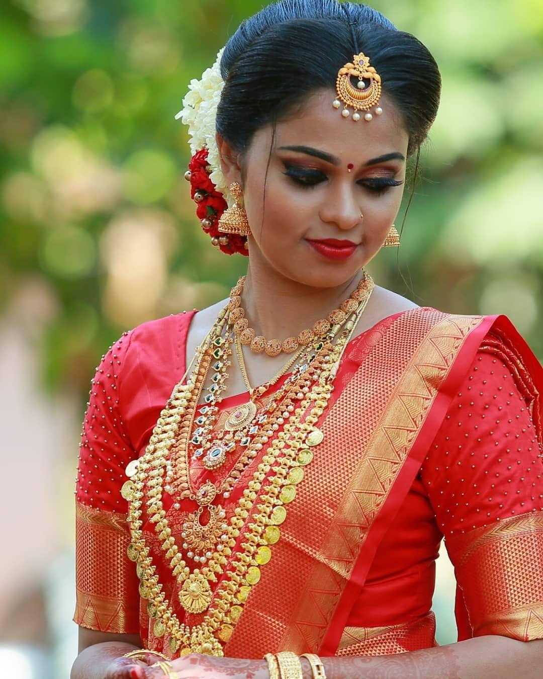 kerala bridal hairstyles for short hair | Hindu Wedding