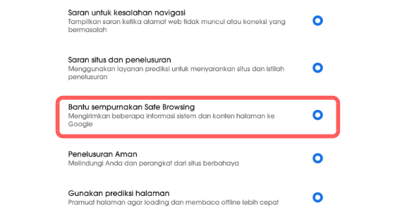 Cara mengaktifkan mode safe search google dan YouTube 3