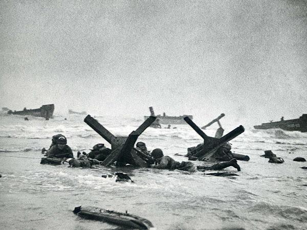 Omaha Beach 75 Years Later