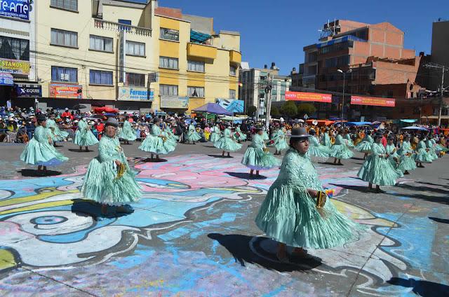 Entrada folklórica de la Virgen del Carmen en El Alto 2021