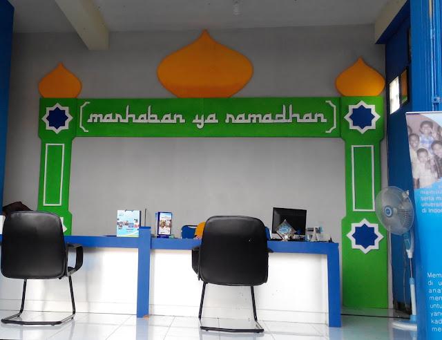 Dekorasi Ramadhan Murah di Kantor