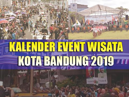 Kalender event wisata Bandung 2019