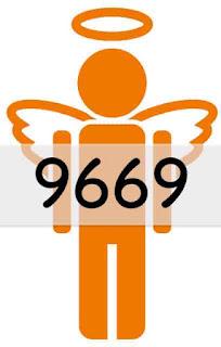 エンジェルナンバー 9669