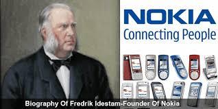 Biography of Fredrik Idestam - Founder Nokia  Nokia Products