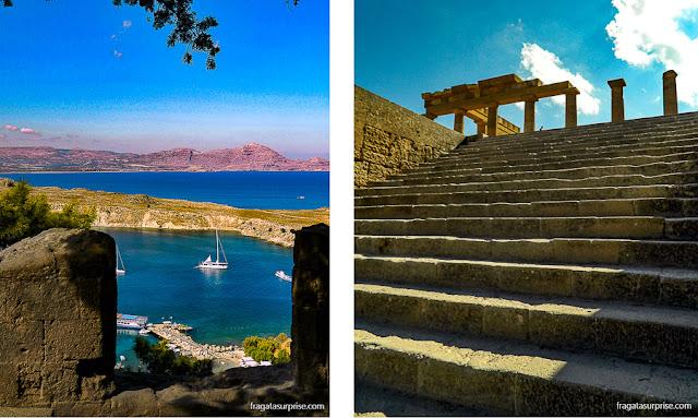 Acrópole de Lindos, Grécia