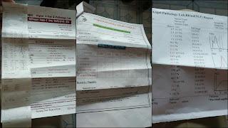 जिला अस्पताल प्राइवेट क्लिनिको पर  लैब पैथलोजियो की चल रही मनमानी रिपोर्ट
