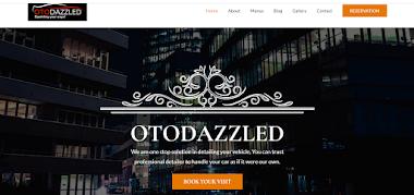 Website Otodazzled.com nanocoating Jakarta
