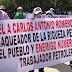 Petroleros protestan  por desabasto de medicamentos en PN  ¡