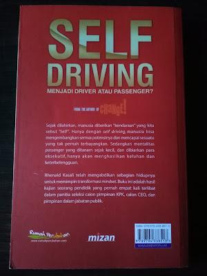 Sinopsis Buku Self Driving : Menjadi Driver atau Passenger