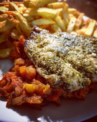 Ryba po grecku na ciepło
