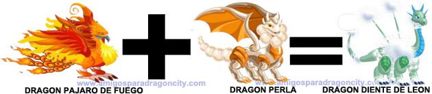 como sacar el dragon diente de leon en dragon city combinacion 3