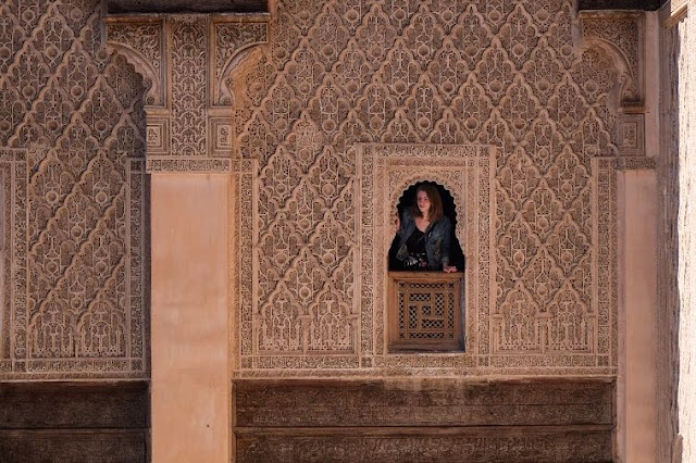 ben youssef madrasa details Marrakech Photo Diary