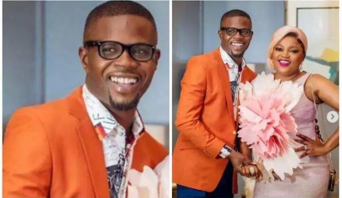 Happy birthday Baba Ibeji - Funke Akindele Celebrates her Husband, JJC Skillz At 43 (photos)