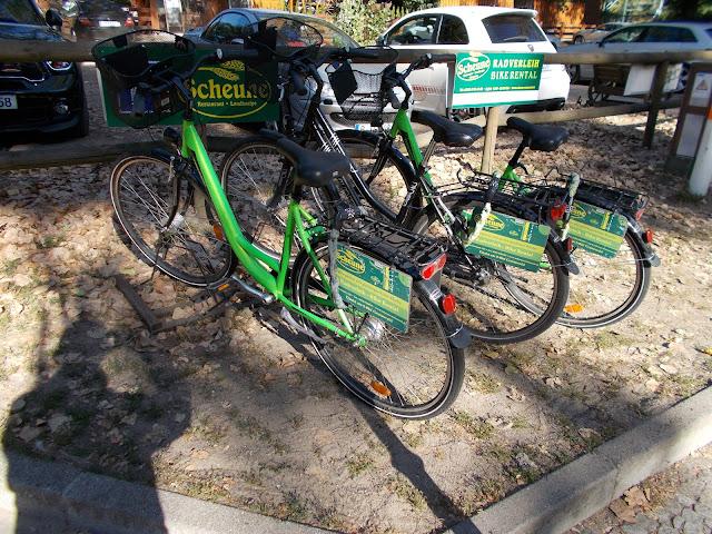 グルーネヴァルト、貸自転車