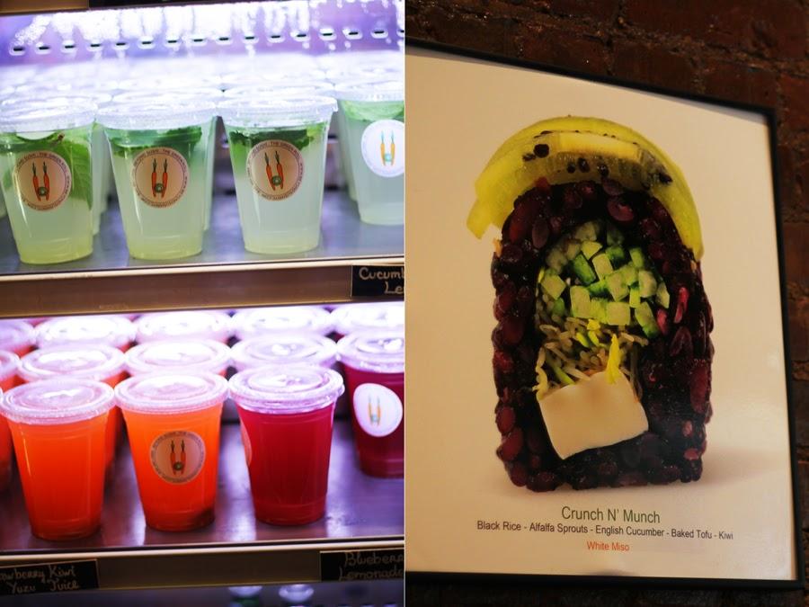 beyond sushi new york chelsea market sushi juices detox
